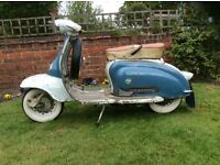 Italian series 2 li150. Virtually as is left the factory
