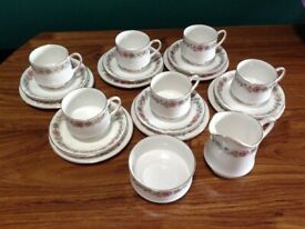 PARAGON FINE CHINA TEA SET...NEW/UNUSED!