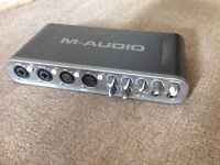 M-Audio fast track Ultra (6 input channels)