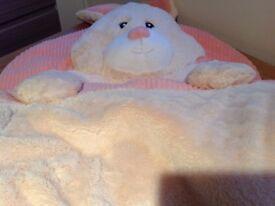 Soft Plush Child's Sleeping Bag