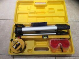 Laser levelling kit
