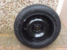 Clio wheel and tyre