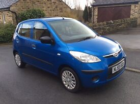 HYUNDAI I10 1248cc CLASSIC, AIR CON ,ONE OWNER, 2 KEYS mint condition