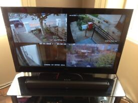 The latest smart dvr/nvr fitted with a one tera bit cctv hard drive