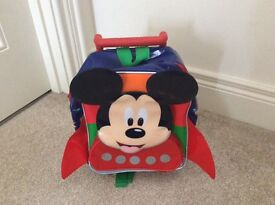 Mickey Mouse Child's Trolley Case