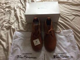 Ben Sherman desert boots Brand new unwanted gift.