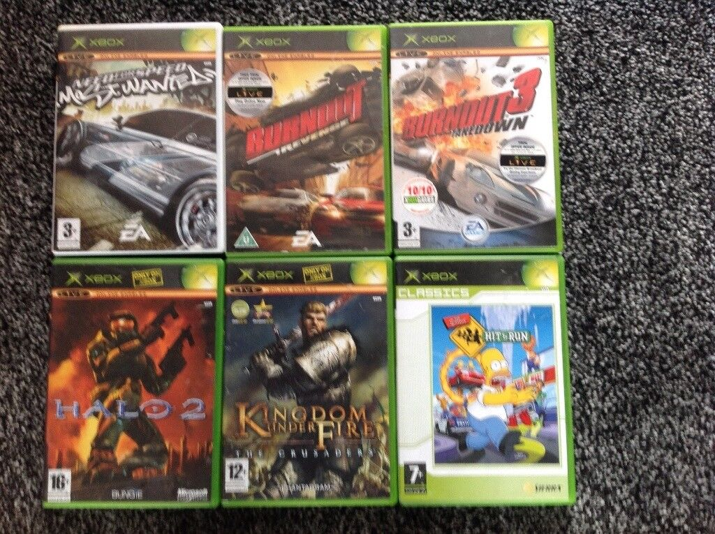 Assortment of games for Xbox Need for speed most wanted, Burnout revenge, |  in Yate, Bristol | Gumtree