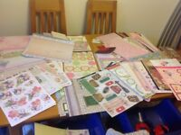Large assortment of card making items