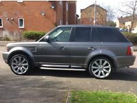 Range Rover sport 3.6TDV8 Sat NAV Fully loaded 1 year MOT