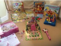 Children's Board Game Bundle includes Buckaroo and Game of Life Junior,