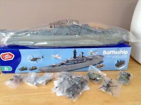 Brand New Chad Valley Battleship