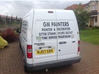 Time served Painter and decorator fully insured free quotes Covering Fife and surrounding areas