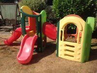 Little Tikes 8 in 1 Climbing Frame Garden Outdoor Toy