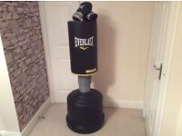 Martial Arts / Boxing punch bag. Really excellent condition. Used couple of times. Water/ sand base.