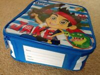 Jake and the Neverland Pirates lunch bag NEW with tags