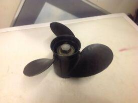 mercury 25 outboard propellor