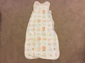 1 Tog baby grobag sleeping bag (6-18 months)