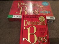 Dangerous book for Boys game and book
