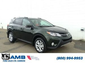 2013 Toyota RAV4 AWD Limited Reverse camera Leather heated seats