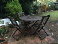 Renovation Project - Garden Table and Chairs