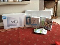 Brand new never used Nintendo wii and extra's