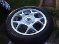"BMW Mini wheels 16"" cooper S x4"