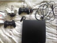 PS3 4 controller 14 games