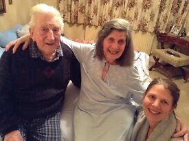 Experienced carer required for elderly couple in chichester. Nightcare and/or occasional daycare