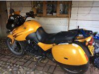 My bike for 14 happy years. Mot June 17, Luggage, Scottoiler, Big screen, Mainstand, Heated grips
