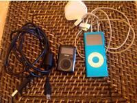 iPod nano 4gb & Sansa Clip MP3 player