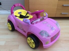 Pippa pig 6 volt electric ride on car