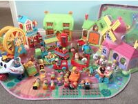 Happyland large bundle great condition