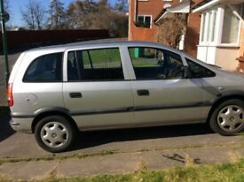 Vauxhall Zafira - spares or repair