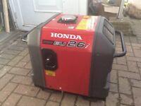 Honda generator 26i