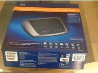 Cisco Linksys X3000 Advanced Wireless-N ADSL2+ Modem Router