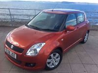 *2008* SUZUKI SWIFT * 1.5 GLX * F/S/H * 12 MONTHS M.O.T * NEW TYRES * 5 DOORS * IMMACULATE CONDITION