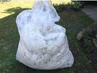 Large bag of wool filling
