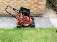 Black &a decker electric mower