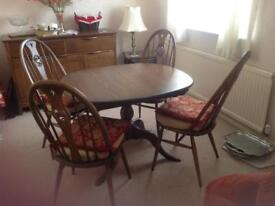 Ercol dining room suite
