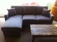 BRAND NEW! battersea multi-functional corner sofa/suite with pullout double bed feature