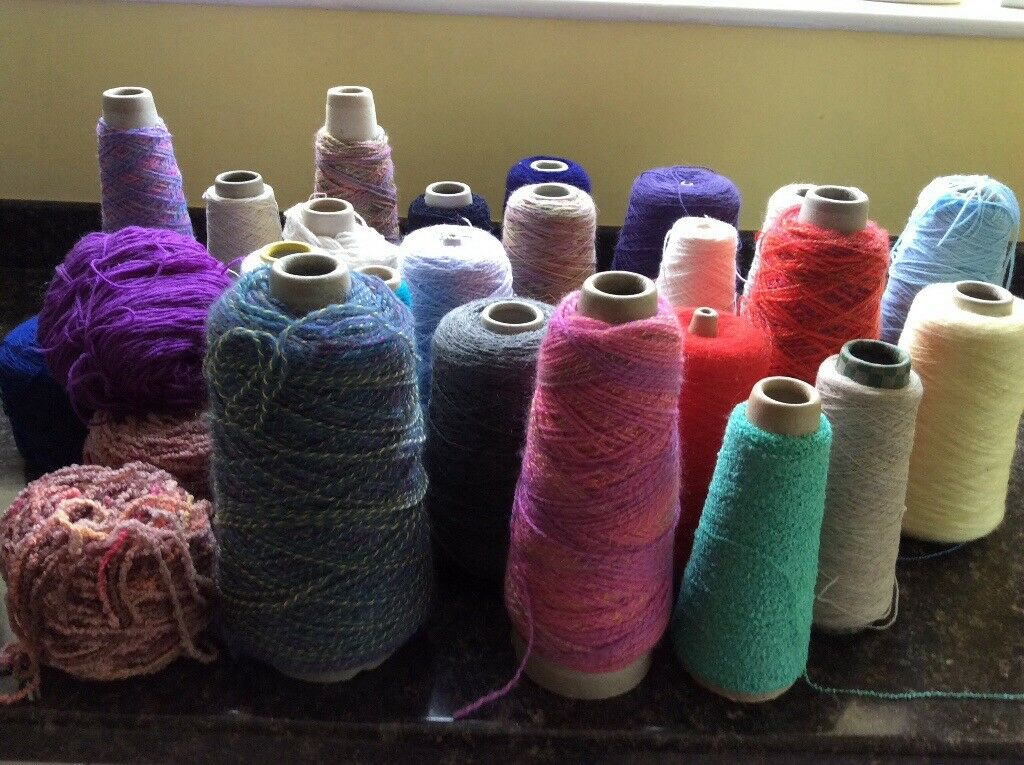 Various yarns,suitable for Knitting toys etc.