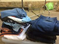 Men's job Lot clothes bundle. Size medium. Nice names. Soviet ect