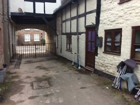 One bedroomed first floor apartment Ludlow Shropshire