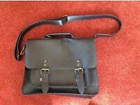 Debenhams mock leather satchel