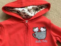 Brand new Hey Kitty red sweatshirt by Marks and Spencer. Age 3-4 years.