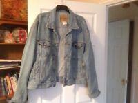Vintage mens denim jacket by Gap xxl