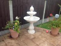 Elizabethan 2 tier Fountain Water Feature