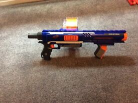 Nerf Rampage Blaster with 40 darts.