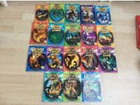 18 Beast Quest books