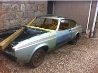 Ford Capri Mk3 shell....breaking for spares or repairs.
